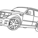 Dodge Nitro, autos zum ausmalen