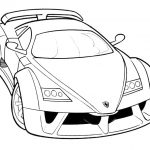 Ferrari-f50a zum ausmalen