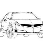 Pontiac Auto ausmalbilder