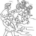 Elsa und Hans ausmalbilder Eiskönigin