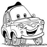 ausmalbilder Cars: Luigi