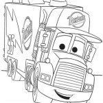 ausmalbilder Cars (5) Mack