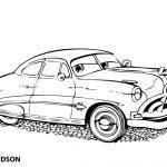 Bilder zum ausmalen Cars (6) Doc Hudson