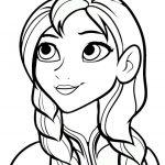 Ausmalbilder Eiskönigin Prinzessin Anna (4)