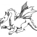 Ausmalbilder Dragons 6