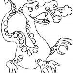 Ausmalbilder Dragons 8