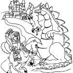Ausmalbilder Dragons 9