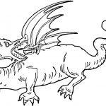 Ausmalbilder Dragons 12