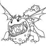 Ausmalbilder Dragons 13