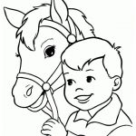 Ausmalbilder Pferde 2