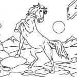 Ausmalbilder Pferde 10