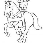 Ausmalbilder Pferde 11
