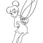 Ausmalbilder Tinkerbell 12