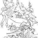 Ausmalbilder Tinkerbell 13