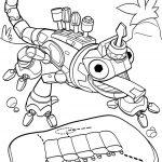Ausmalbilder Dinotrux. Repto. Bild 1