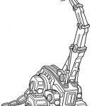 Ausmalbilder Dinotrux Lana, Bild 2