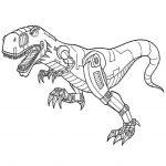 Ausmalbilder Dinotrux. Schroptors, Bild 5