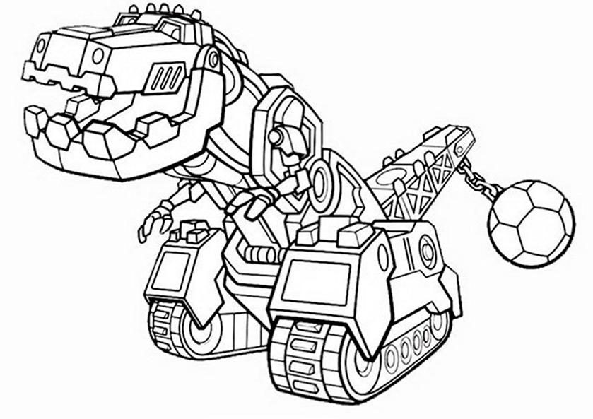 Dinotrux (12) | Ausmalbilder kostenlos
