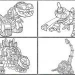 Die vier Dinotrux ausmalbilder