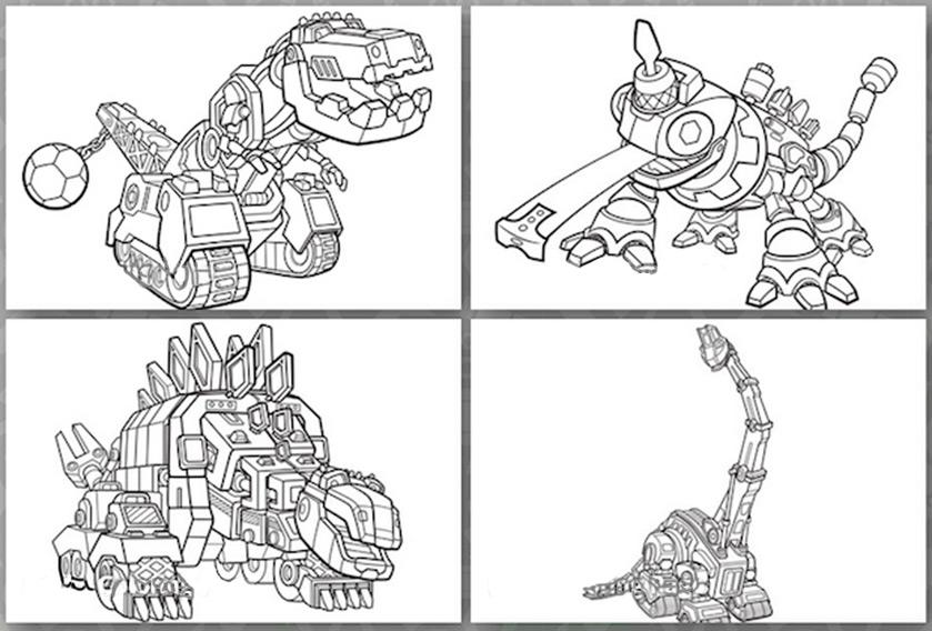 Dinotrux 7 ausmalbilder kostenlos for Dinotrux coloring pages