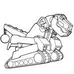 Ausmalbilder Dinotrux, Mega-Trux