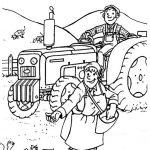 Ausmalbilder Traktor, Bild 4