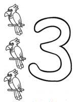 Zahl Drei