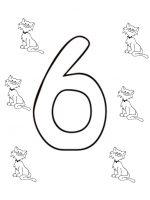 Zahl Sechs