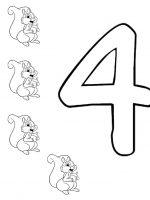 Zahl Vier