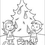 Ausmalbilder Weihnachten, Bild 3