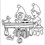 Ausmalbilder Weihnachten, Bild 4